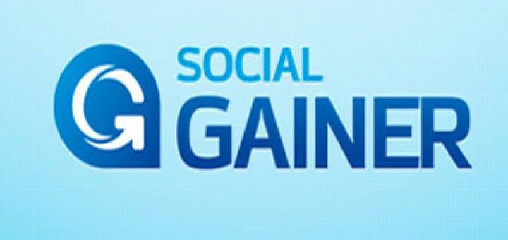 Social Gainer - накрутка в Твиттер, ВКонтакте, Youtube и Periscope