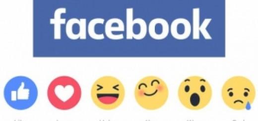 Facebook заменил кнопку Like «реакциями»