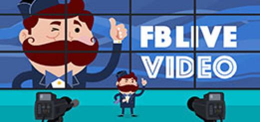 Фейсбук открыл публичный доступ к функции видеотрансляций